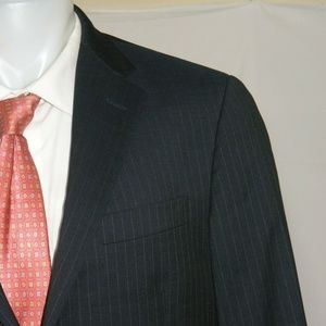 Hickey Freeman Milburn Two Button Suit 42L